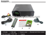 Hot sell ! 3000lumens Full HD led projector Daytime use,for home theater enjoy,free shipping !!