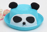 Children sun hat fashion panda rabbit deer type for sping and summer