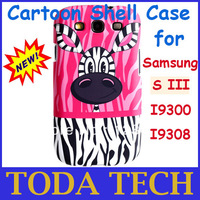 Protective Cartoon Shell Case For Samsung S3 I9300 I9308 Mobile Phone Best Quality Cheap Price Free Shipping