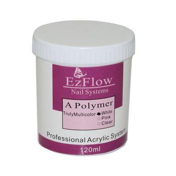 New 2015  3Pcs/lot White/Clear/Pink Nail Art System Acrylic powder Manicure/Nail Acrylic Powder Crystal Powder 3 colors 628
