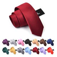 Free Delivery High Quality New 2015 Mens Ties For Men Designer Slim Tie Men's Fashion Brand Gravata 6cm Wedding Tie Men Necktie