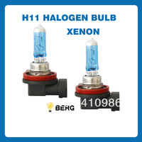 Free Shipping NEW H11 55W Halogen Bulb Super Bright Light Car Fog Light 4300K 2PCS