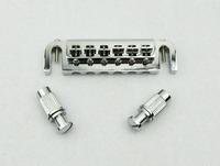 1pcs Chrome Wraparound Guitar Tailpiece Bridge for LP Style Guitar M536