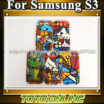 Brazil Art Graffiti Designs Hard Cases for Samsung Galaxy S3 i9300 Free Shipping