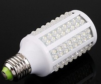 20pcs Free Shipping 220V 7W E27 166 LED Bulb Light Corn Light cold white Energy Saving LED Lamp