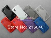 Free Shipping! Newest! S Line TPU Cover for LG Nexus 4 E960, S Wave Gel Soft TPU Back Case for Google Nexus 4 LG E960, LGC-013