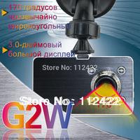 2013 New Free shipping Original Blackview 1080P Full HD Car DVR G2W DVR + G-sensor+ H.264 + HDMI + Enhanced IR Night Vision