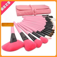 2013 New Pink 24 Pcs professional makeup brush set MAKE-UP FOR YOU brush makeup tool kitn - M-6331