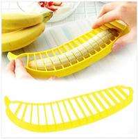 Banana Slicer Cutter Chopper for Fruit Salad Sundaes Cereal kitchen Tools Helper E262 Free Shipping