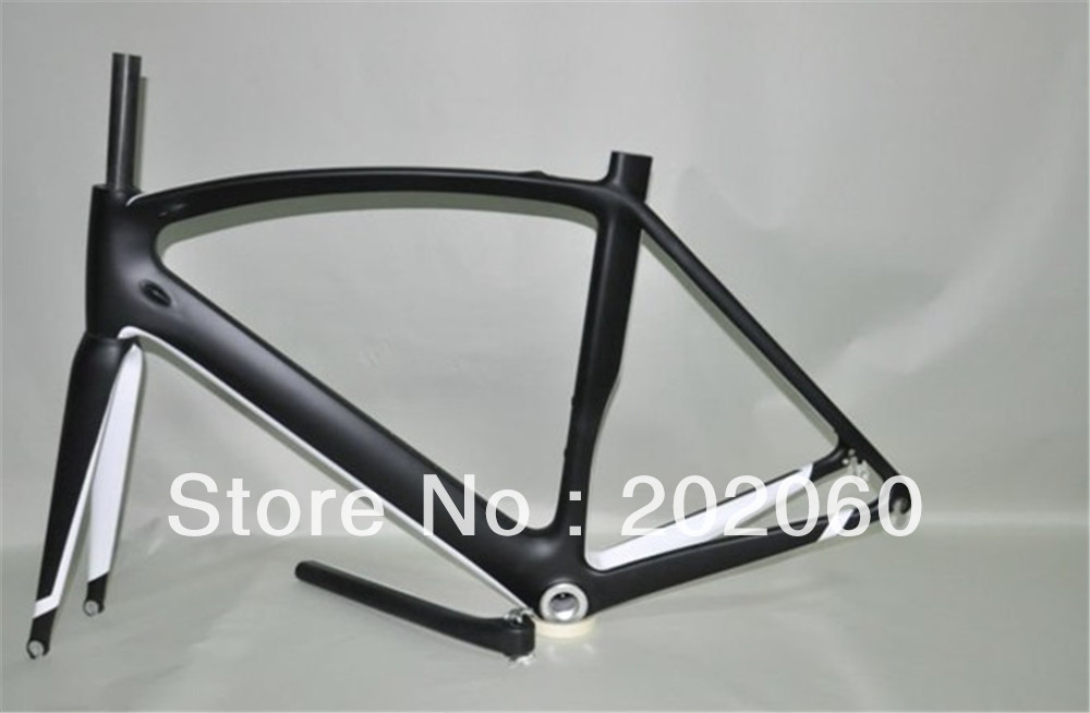 Promotions! S-Works Venge Black White 2013 Frame+Fork+Seatpost+Headset+Clamp for carbon road racing bike frameset wholesale(China (Mainland))