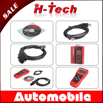 Autel MaxiDiag EU702 OBD II Code Reader EU 702 Engine A/T ABS Airbags codes for European Vehiclesots Engine A/T ABS Transmiss