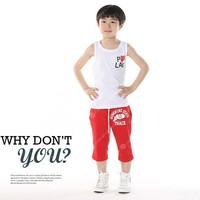 Hot sale 100% cotton Vest Girls Boy Baby love heart vests underwaist t shirt tanks children clothing  610210J