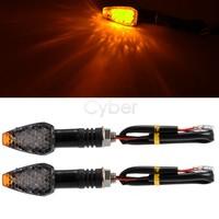 Cheap Hot Sale 12Pcs/Lot 14 LED Motorbike Motorcycle Motor Corner Turn Signals Light Lamp Bulb Indicator Amber Yellow TK0125