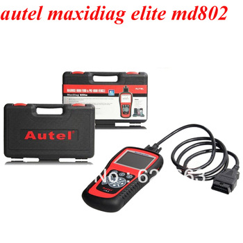 100% original Autel MD802 maxidiag elite md802 code reader four system