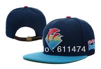 1 PC Hip hop Basketball Footbal Pink Dolphin Snapback cap Snapback hat baseball cap Free shipping