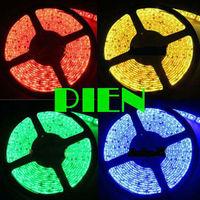 5050 Waterproof RGB LED Strip 300 leds 5m IP65 fita ribbon white|purple car dc 12v by DHL 50m/ 10 roll