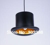 2014 innovative items 110v 220v e14 E14*1 lamp holder D260*H170mm Top hat chandelier lamps aluminum hat lights for home lighting