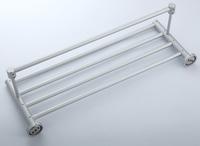 Bathroom hardware accessories space aluminum towel rack bathroom towel rack belt towel bar BR-FA-5227