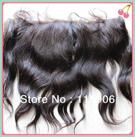 Cheap 13*4 inches Body Wave Virgin Brazilian Hair Lace Frontals With Baby Hair Free shipping!!!