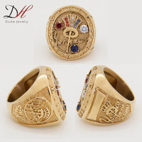 Free shipping replica championship rings for sale high quality Hot & New World Series Championship Men's Rings 1piece