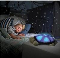Night Lights start for Children Music Lights Mini Projector 4 Colors 4 Songs Star Lamp