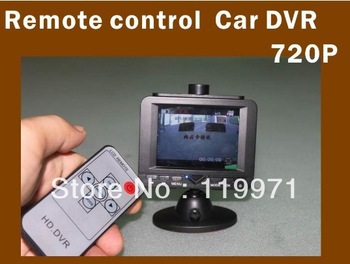 2013 newest  2.7-inch tv HD 720P Car dvr with Remote part HDMI out built-in battery file locking function screen saver function