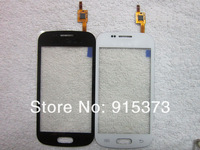 For Samsung Galaxy S Duos S7562 Touch Screen Digitizer Original Replacement in Black & White Color; HK post Free 10pcs/lot
