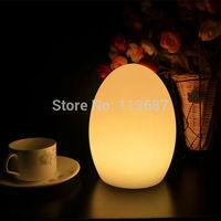 egg shape Glow Lights for coffee shop \lamp,led table light