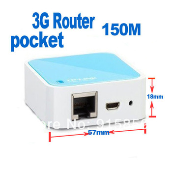 Direct Marketing  Mini TP-LINK 3G Router TL-WR703N 3g wifi router