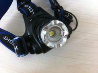 Excellent CREE XM-L T6 LED1200 Lumens 3-Mode Adjustable focus LED Headlamp
