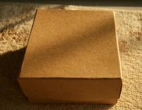 Free Shipping Wholesale 24pcs/lot 8x8x3.5cm Kraft Paper Square Box Necklace/Bracelet Box Jewelry Box