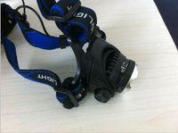 Big promotion Retractable headlights CREE XM-L T6 LED1200 Lumens 3-Mode Headlamp Adjustable focus