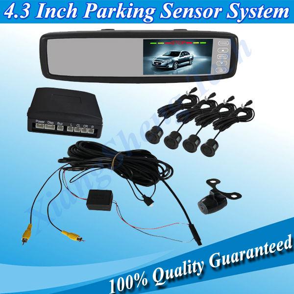 2013 Hot Selling 4.3 Inch Auto Parking Sensor System Rearview Camera System AV DC12V (XST-4300RV-1)(China (Mainland))