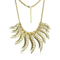 6pcs/lot 2013 Gold Chunky Chain Irregular Exaggerated Alloy Statement Necklace Jewelry Punk Metal Necklace Collar for Women