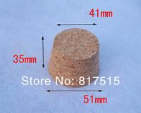 51*41*35(h)mm wine bottle cork stopper soft wood pudding ceramic glass sealed wish jar bottle cap cover wine accessories