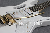 2013 new + free shipping + factory + Ibna custom jem 7v electric guitar, Ibna steve vai 7V replica electric guitar for sale!
