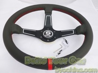Fashion  style Sparco Leather Steering Wheel,13 inch