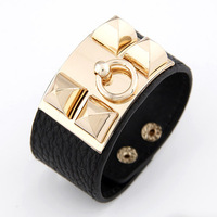 Min.order is $15(mix order) Free shipping! 2013 Auger Cortex Multilayer Leather Big Bracelets Fashion Korean Jewelry. BR3