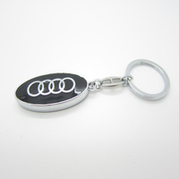 Free shipping,10pcs/lot  fashion car logo metal key chain keychain key ring keyring hot gift