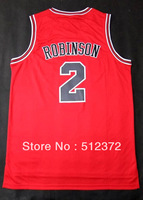 Free Shipping!!! #2 Nate Robinson     jersey , Embroidered Logo ( all name number stitched!!)