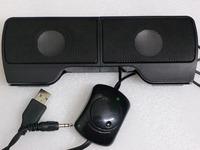 3in1 Laptop Soundbar USB Portable Audio Player Mobile Phone Computer Speaker Free Shipping