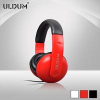 Uldum new fashion, personality headband headphones with high quality bass