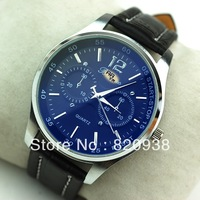 2013 watch market watch domineering Classic absolutely handsome belt male table the imported quality factory  super cheap