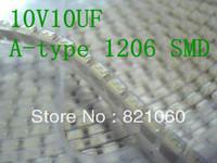 10V10UF A-type 1206 SMD Tantalum capacitor / Tantalum electrolytic capacitor 10PCS/LOT