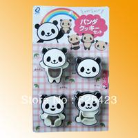 Hot Sale! Free Shipping Brand New PP  Sushi Tray or Rice Balls Mould Lovely Cartoon Panda Model DIY Sushi Maker Sushi Tools