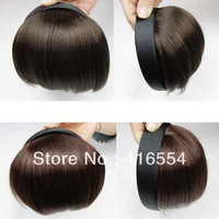 Hot-selling wifing hair accessory hair accessory wig false fringe bangs hair bands trim fringe hair bands headband
