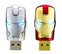 Hot sale products Depreciate sales promotion Iron Man Usb Flash Drive Usb Drive 2 4 8 16 32 64GB usb memory stick IM-001