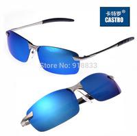 2014 Colorful Reflective Film 3043 Polarized Sunglasses Men Sports Male Glasses Sun Glasses Driving Mirror Wayfarer Eyewear