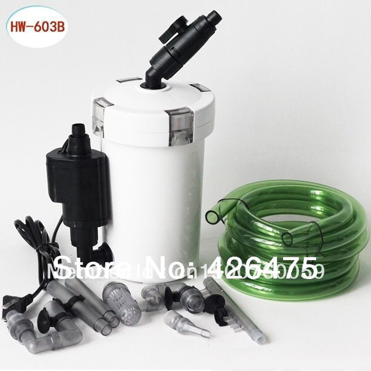 SUNSUN HW-603B fish tank aquarium filter bucket belt water pump(China (Mainland))