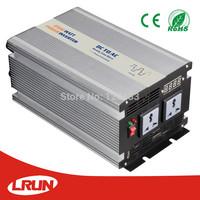 2500W 12V or 24V DC to 110V or 220V AC 50/60Hz Modified Sine Wave Inverter peak  power 5000W High Surge, Cooling Fan